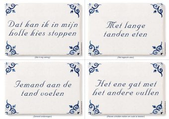 Oproepkaart op A4 printvel